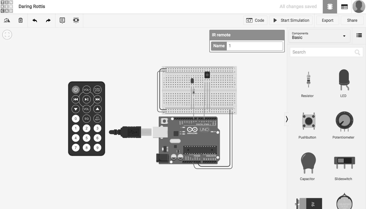 Accensione Lampadario Con Telecomando controllo di un led mediante telecomando infrarossi
